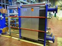 image of new unused alfa laval plate heat exchanger