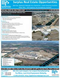 image of IPP's Industrial Park Real Estate Properties Catalog