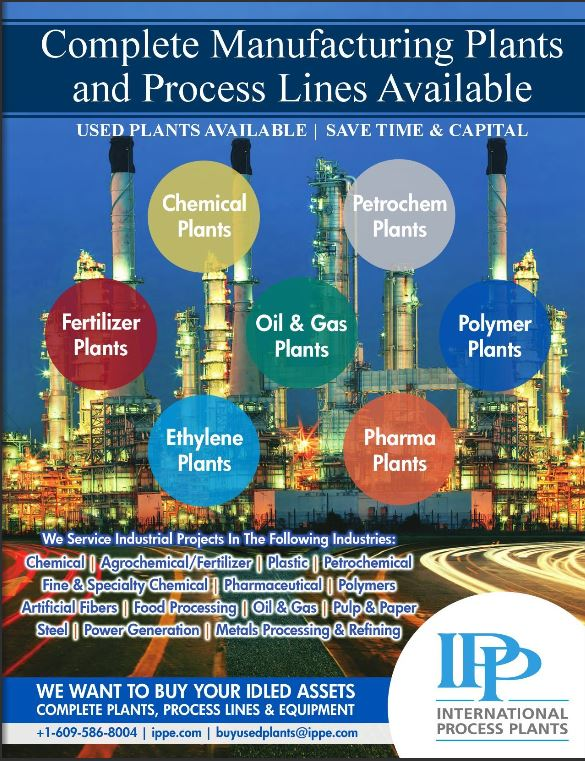 Current IPP Complete Process Plants Catalog