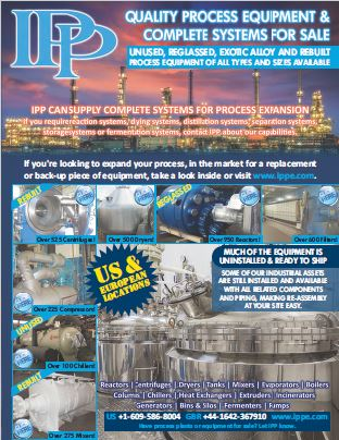 IPP Used Industrial Process Equipment Catalog