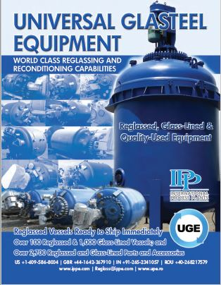 image of UGE's Industrial Glass Lined Equipment and Services Catalog