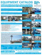 IPP Used Industrial Process Equipment Catalog Fall 2012